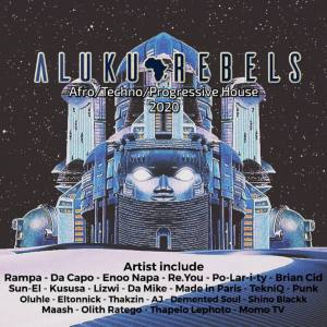 Aluku Rebels - Tribes on the Titan Moon (Mixtape)
