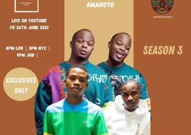 Major League Djz - Amapiano Balcony Mix Africa Live with Amaroto (Reece & Zuma) S3 EP 2