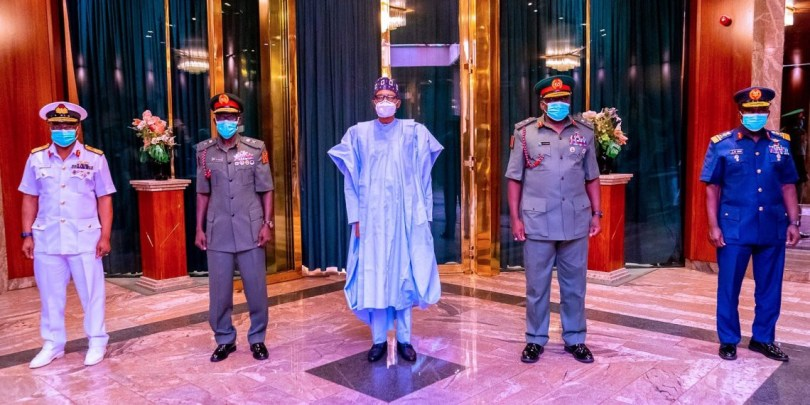 Buhari writes National Assembly for confirmation of new Service Chiefs