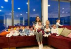 A 23-year-old Lady Says She Wants More Kids After Having 11 Biological Children