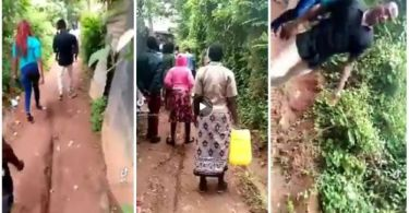 Drama! Prostitute Humiliates Customer in Front of Neighbours After He Refused To Pay Her