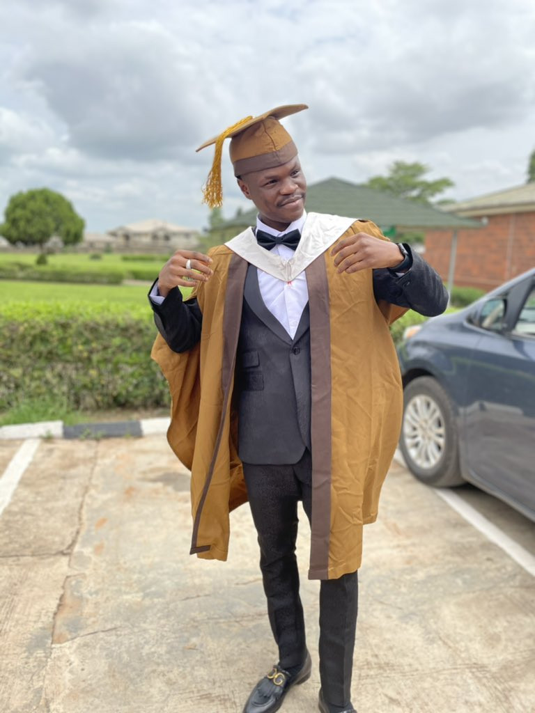 """Bad Boy Timz Says """"Your Dreams Are Valid"""" As He Graduates From Bells University"""