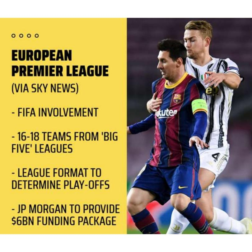 UEFA and Premier League Issue Statements After 12 Top Clubs Announce Plan To Breakaway and Form Their Own European Super League