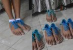 See Reactions As Weird Shoe That Looks Like A Human Feet Surfaces Online