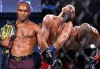 Watch Moment Nigerian UFC Fighter Kamaru Usman Knocked Out Opponent, Masvidal