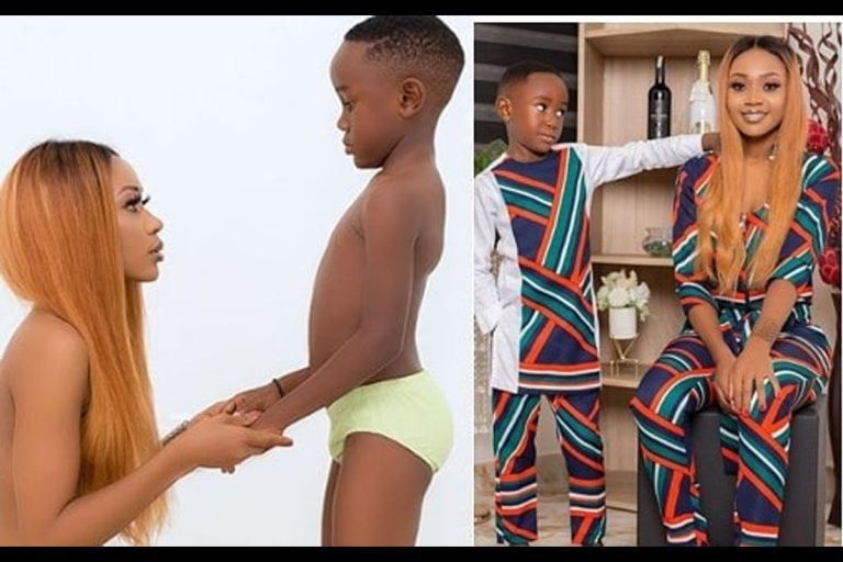 Ghanaian Actress Akuapem Poloo Arrested Over Nude Photoshoot With Her Son