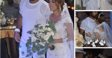 See Shocking Way Dominican Singer Dressed To His Wedding