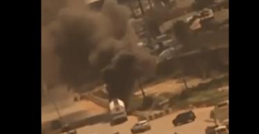 Fuel Tanker Catches Fire Today on Otedola Bridge