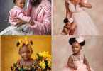 Simi and Adekunle Gold Celebrate Their Daughter, Adejare, As She Turns One Today