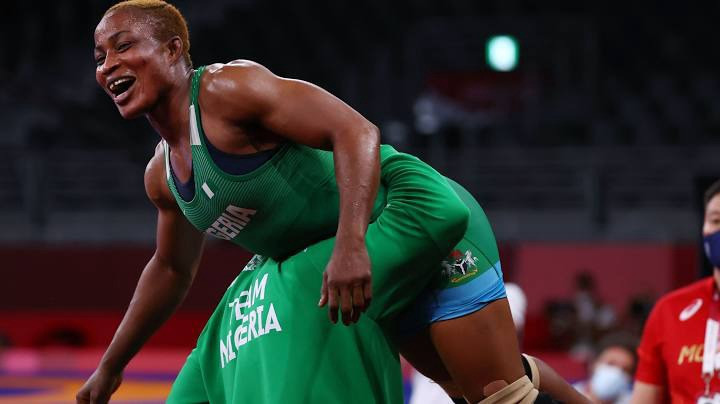 Nigeria's Blessing Oborududu Wins Silver Medal at Tokyo Olympics After Losing Finals