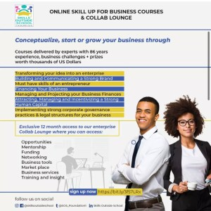 Online skill up for business courses