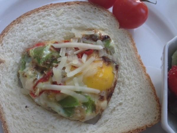 naija bread and egg