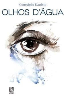 Capa do livro Olhos d'água de Conceição Evaristo.