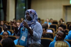 Sainabou Nyang Administration Officer of Think Young Women, Gambia