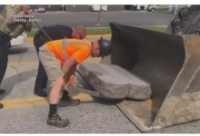 Photo of Man charged with toppling Ten Commandments monument