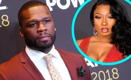 50 Cent apologizes to Megan Thee Stallion after mocking her over reports she was allegedly shot by Tory Lanez