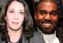 Kanye West congratulates Kamala Harris on democratic VP nomination while calling himself 'future president'