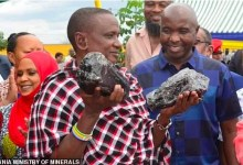 Tanzanian miner Saniniu Laizer who found gemstones worth $3.35m, has found another stone worth $2m