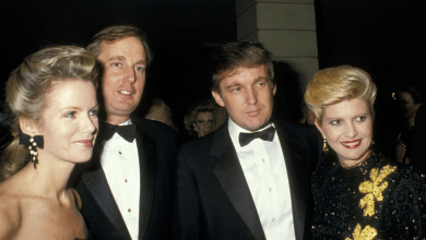 Photo of Robert Trump, president's brother who avoided the limelight, dies at 71