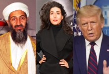 Photo of Osama Bin Laden's niece says Trump must be re-elected to prevent another 9/11