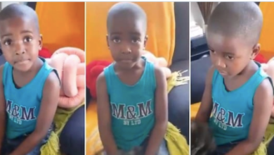 Photo of Viral video of little boy telling mom about girlfriend who broke his heart