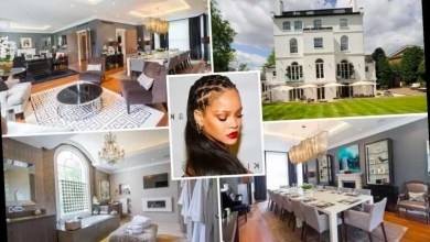 Photo of Rihanna's  London mansion is up for sale for '£32million' (photos)