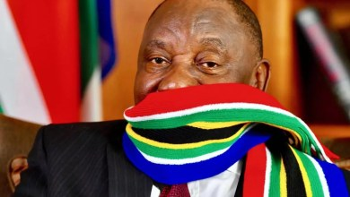 Photo of President Ramaphosa sick and in bed, Presidency says
