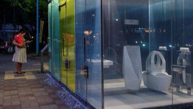 Photo of Japan now has transparent public toilets