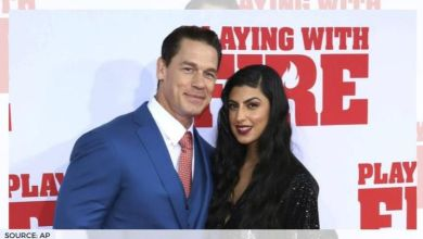 Photo of WWE star John Cena marries girlfriend Shay Shariatzadeh in a private ceremony