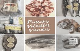 Poissons Volailles Viandes