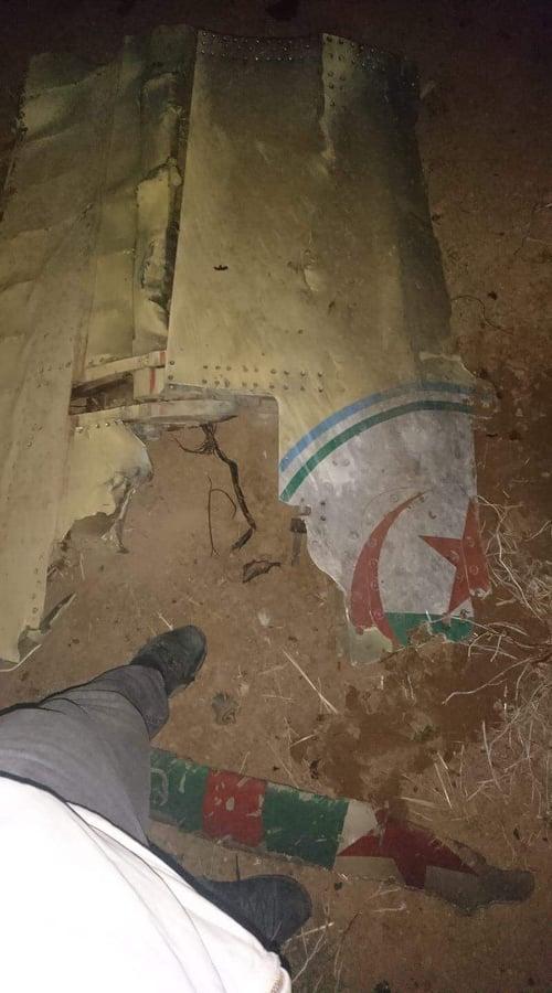 décombres du crache de l'hélicoptère