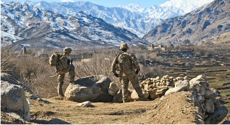 troupe en afghanistan