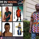"""AYISSI NGA Joseph-Marie alias JJ DU STYLE créateur camerounais et auteur de """"la légende de Wazal"""""""