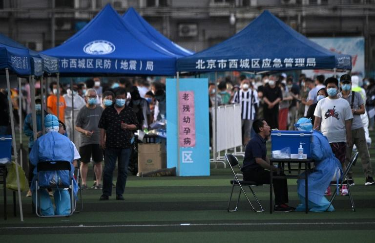 Le Coronavirus de retour en Chine: Pékin met en quarantaine dix foyers d'infection