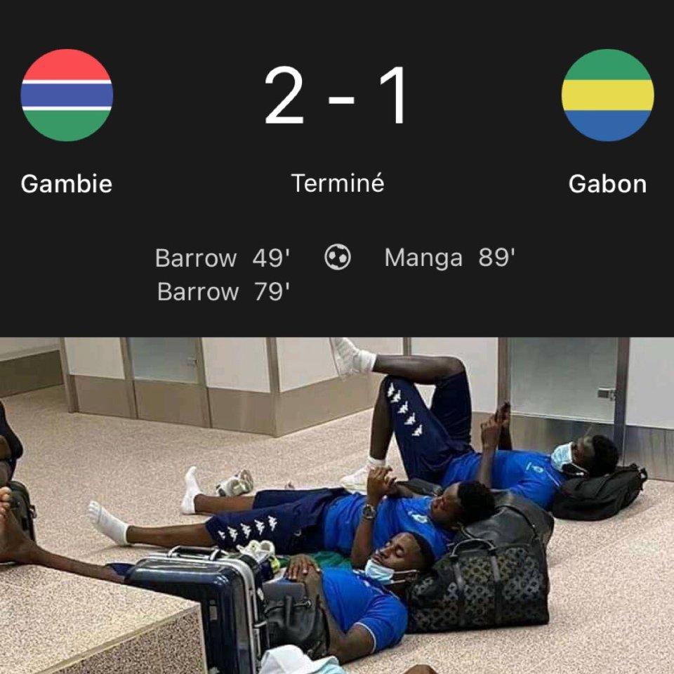 [Eliminatoire CAN 2021] Le Gabon s'incline face à la Gambie 2-1