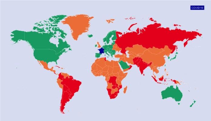 La France place la Tunisie en zone rouge: tous les détails sur les nouvelles restrictions pour les voyageurs