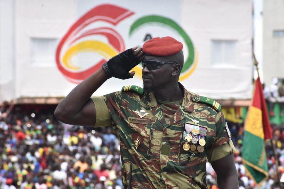 Guinée Conakry: Qui est le colonel Doumbouya à la tête des putschistes