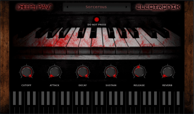 Creepy Piano VST : Free UK Drill VST for Melodies