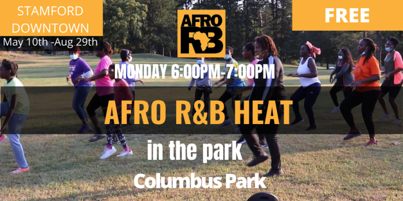 Stamford Downtown & Afro R&B dance classes