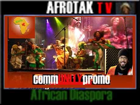 Schwarze Kultur Deutschland ALAFIA AFRIKA FESTIVAL Schwarzes Hamburg Afro Deutsch Schwarze Deutsche Afrika Deutschland AFROTAK cyberNomads TV Community Promo
