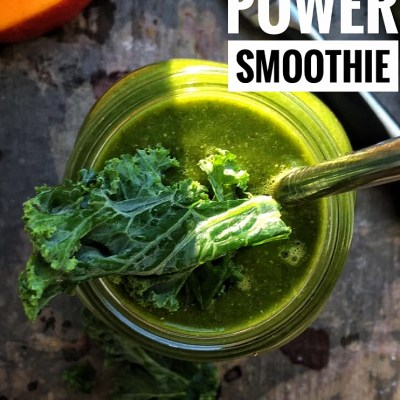 Mango Kale Power Smoothie