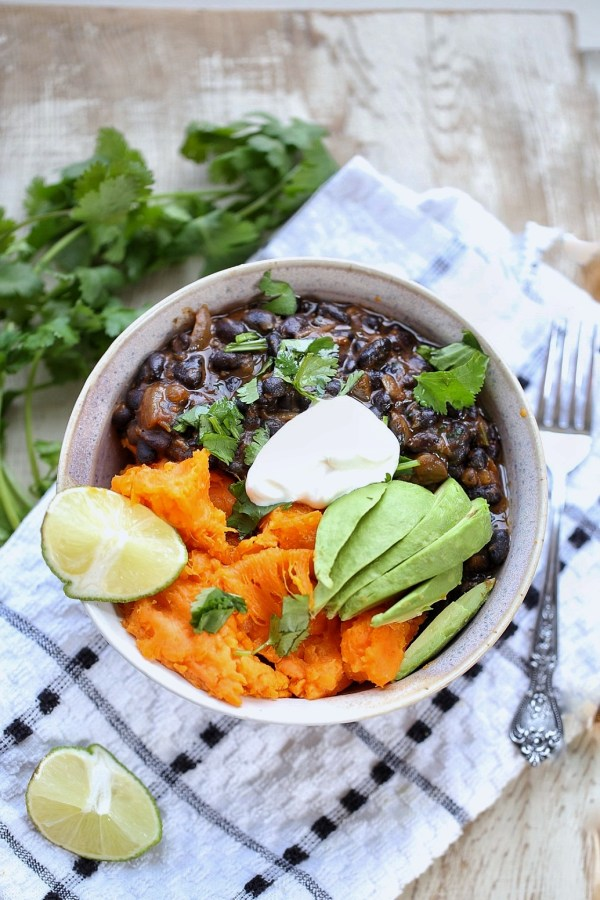 cuban black beans and potatoes