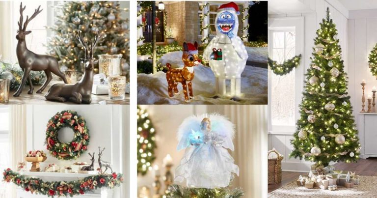 Home Depot: 50% Off Holiday Decorations Plus FREE Shipping