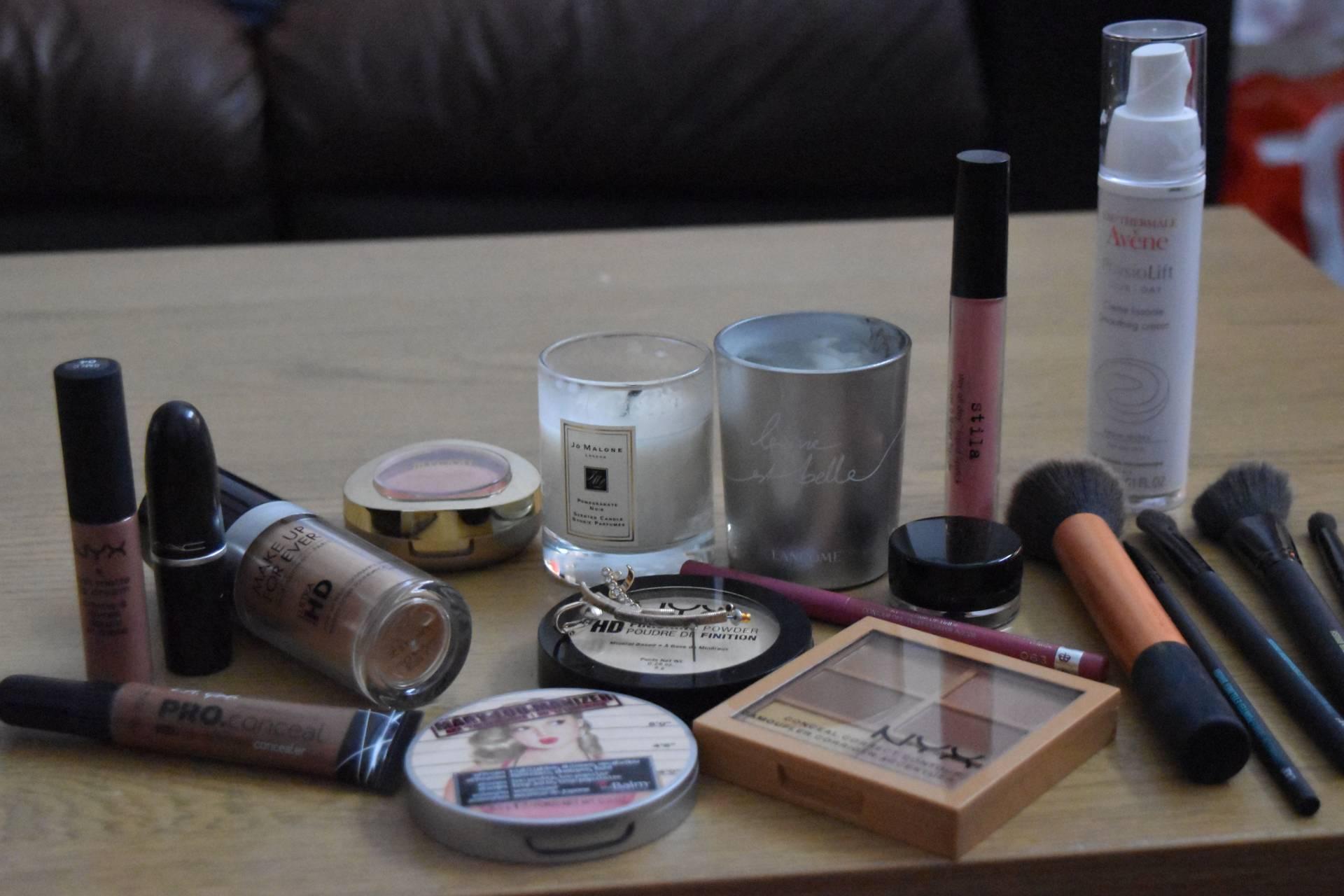 My makeup favourites
