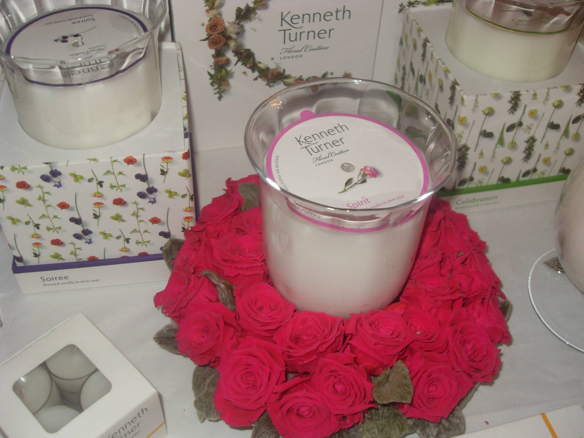 Kenneth Turner Candle