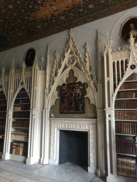 Strawberry Hill House Library