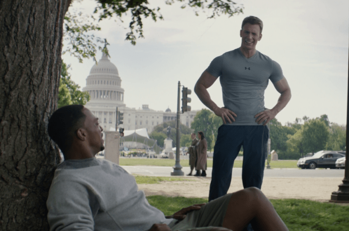 Pararescue meets Captain America