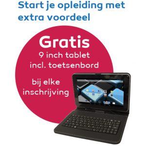 Gratis tablet NHA
