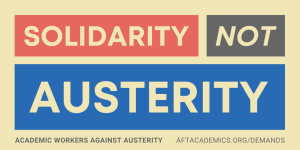 Not Austerity