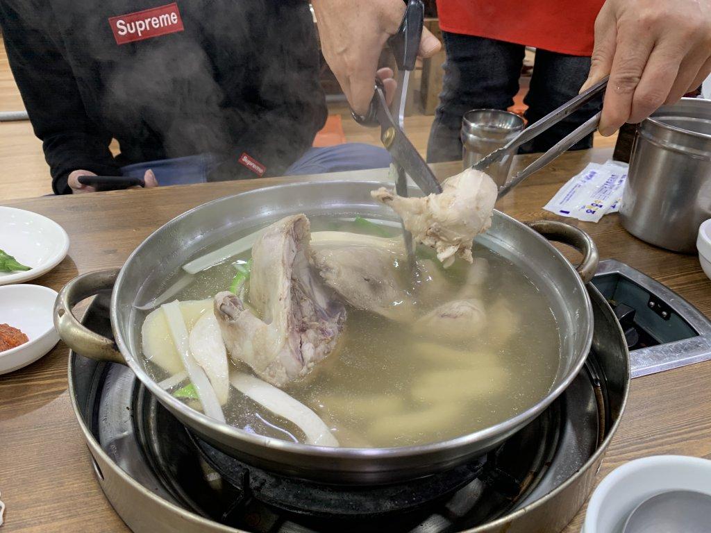 【孔陵一隻雞】2020不只是一隻雞的料理。海苔雞蛋鍋底粥壓軸首爾必吃美食Gongreung One Chicken - after thirty travel blog